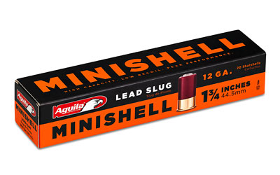 AGUILA MINISHELL 12GA SLUG 20/500 - for sale