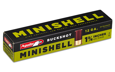 AGUILA MINISHELL 12GA 4 BUCK 20/500 - for sale