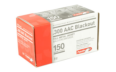 AGUILA 300BLK 150GR FMJ 50/1000 - for sale