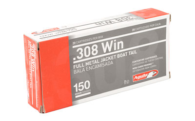 AGUILA 308WIN 150GR FMJBT 20/500 - for sale