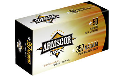 ARMSCOR 357MAG 158GR FMJ 50/1000 - for sale
