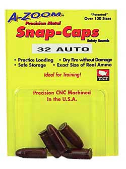 AZOOM SNAP CAPS 32ACP 5/PK - for sale