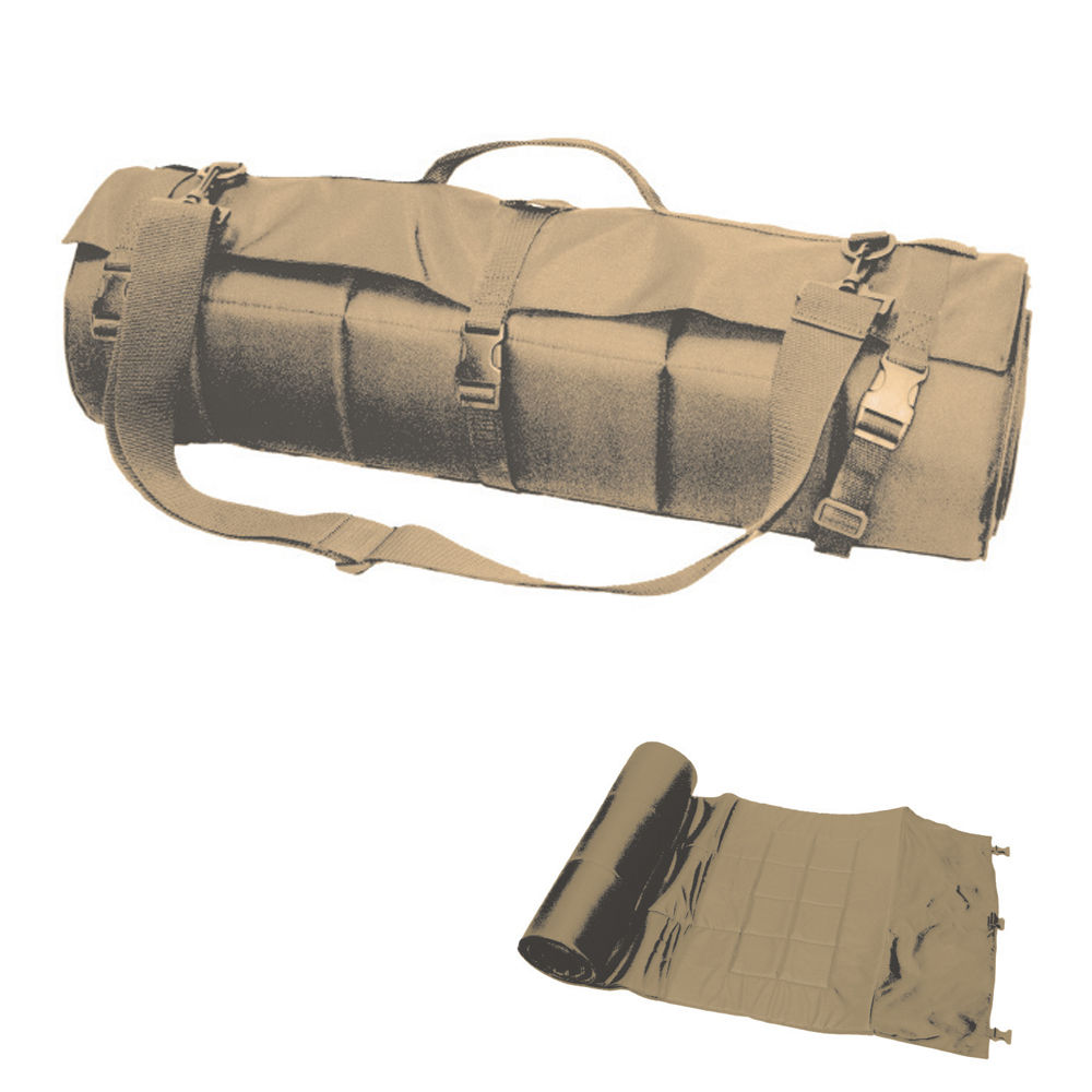 Bob Allen - Tactical - SHOOTING MAT ROLL UP 27X85IN TAN for sale