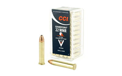 CCI 22WMR 40GR GAMEPOINT 50/2000 - for sale