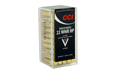 CCI MAXI-MAG 22WMR HP 50/2000 - for sale