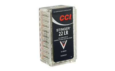 "CCI ""STINGER"" 22LR HP 50/5000 - for sale"