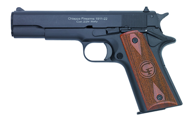 "CHIAPPA 1911 22LR 5"" 10RD BLK - for sale"