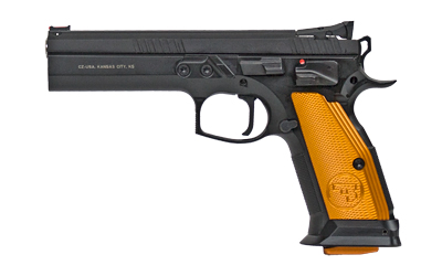 "CZ 75 TS ORANGE 40SW 5.2"" 17RD - for sale"