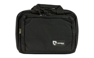 DRAGO GEAR DOUBLE PISTOL CASE BLK - for sale