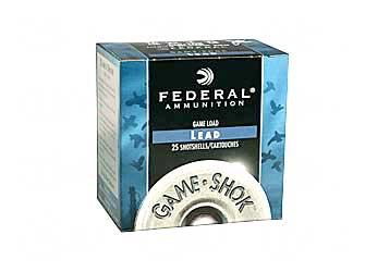"FED GAME LOAD 12GA 2 3/4"" #7.5 25/ - for sale"
