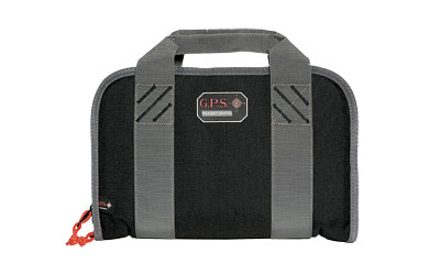 G-OUTDRS GPS DBL PISTOL CASE BLK - for sale