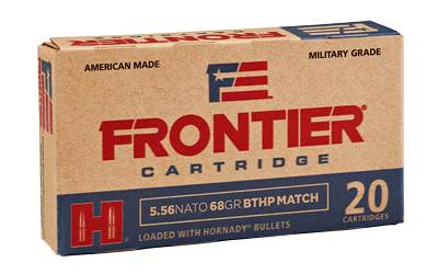 FRONTIER 556NATO 68GR BTHP MTCH 20/5 - for sale