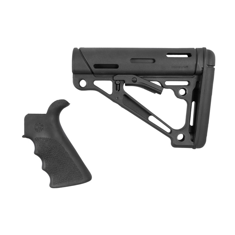 hogue - OverMolded - AR-15/M-16 KIT GRIP W/FG & STOCK BLK for sale