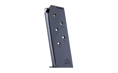 mec-gar - Colt - .45 ACP|Auto - OFFICERS 45 ACP BL 6RD MAGAZINE for sale