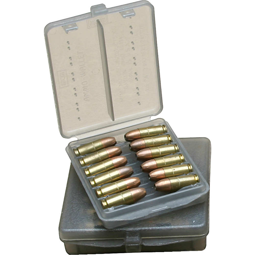 MTM Case-Gard - W12B4441 - AMMO WALLET XLG HNDGN 12RD - CLR SMOKE for sale