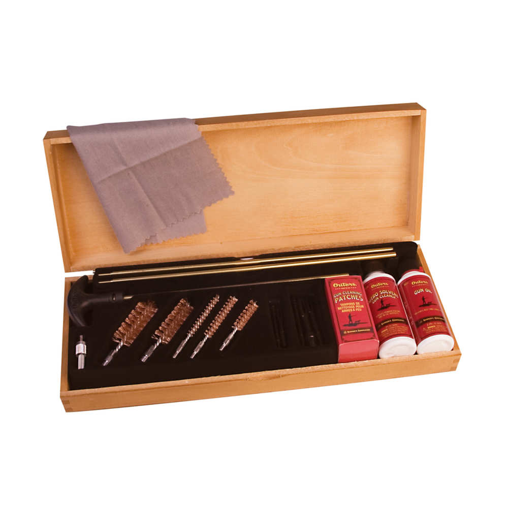 Outers - 96231 - UNIVERSAL CLEANING KIT BRASS ROD WOODEN for sale