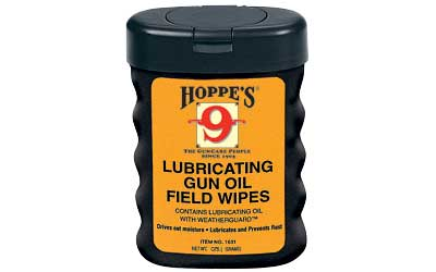 HOPPES GUN OIL FIELD WIPES - for sale