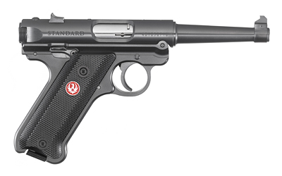 "RUGER MRK IV STD 22LR 4.75"" BL 10RD - for sale"