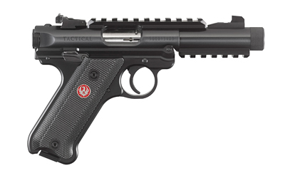 "RUGER MRK IV TACT 22LR 4.4"" BL 10RD - for sale"