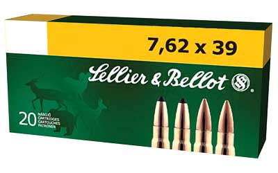 S&B 762X39 124GR FMJ 20/600 - for sale