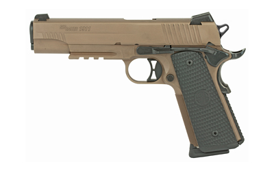 "SIG 1911M 45ACP 5"" FDE SCPN 8RD MA - for sale"