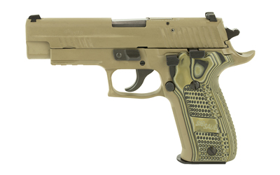"SIG P226 SCRPN 9MM 4.4"" 10RD FDE CA - for sale"