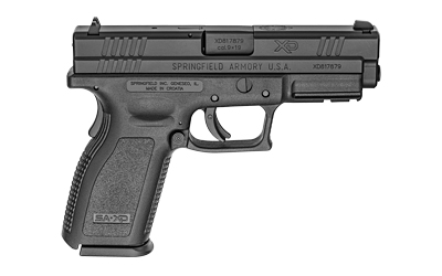"SPRGFLD XD9 DEF 9MM 4"" BLK 10RD - for sale"