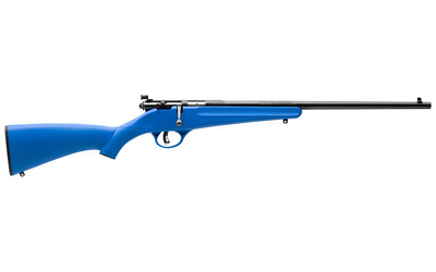 "SAV RASCAL 22LR 16 1/8"" YOUTH BL BLU - for sale"