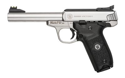 "S&W VICTORY 22LR 10RD 5.5"" STS AFOS - for sale"