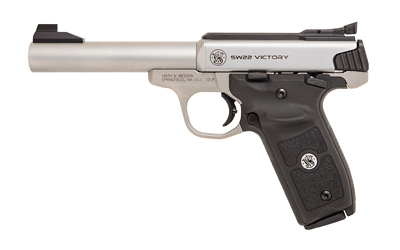 "S&W VICTORY TRGT 22LR 10RD 5.5"" STS - for sale"