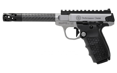 "S&W VICTORY PC 22LR 10RD 6"" CARBON - for sale"