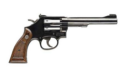 "S&W 17 22LR 6"" BL 6RD WD FC - for sale"