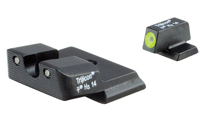 trijicon - HD Night Sights - SW MP HD SHIELD NIGHT SIGHT SET YEL FRT for sale