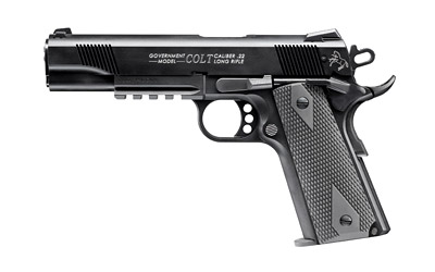"WAL COLT 1911 RAILGN 22LR 5"" 12RD BL - for sale"