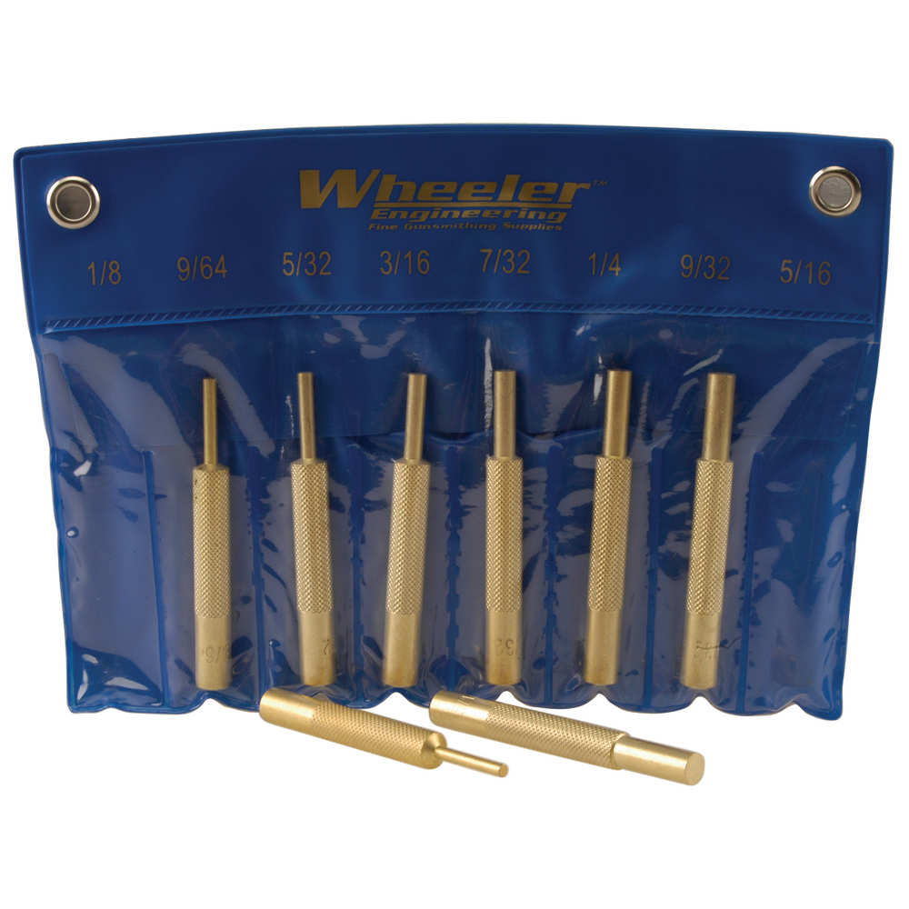 wheeler - 780194 - BRASS PUNCH SET for sale
