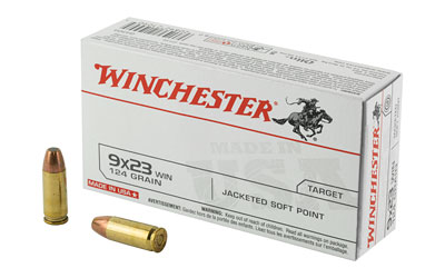 WIN USA 9X23WIN 124GR JSP 50/500 - for sale